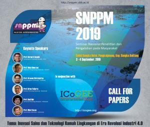$Seminar Nasional Penelitian dan Pengabdian pada Masyarakat 2019