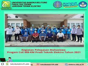Pelepasan Mahasiswa Program MBKM Jurusan Teknik Elektro